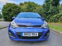 Kia Rio 1.4 CRDi EcoDynamics Hatchback 5 Door Manual Blue £20 Road Tax.