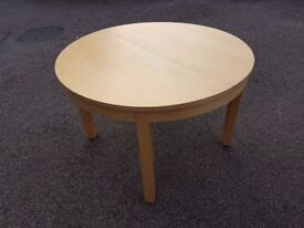 Ikea Round Bjursta Extending Dining Table FREE DELIVERY 118