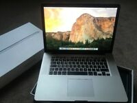 Macbook Pro 15.4 i7 16GB RAMLike New £849!