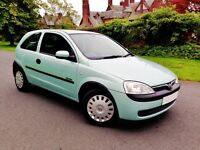 Should be £1300. Immaculate Low Mileage Corsa With A Long MOT.