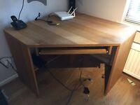 Oakwood Oak Corner Desk For Office or Home