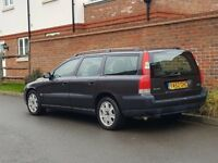Volvo V70 2.4 Estate (2001/Y Reg) + LHD LEFT HAND DRIVE + UK REG + 1 OWNER BRAND NEW + FSH+HIGH SPEC