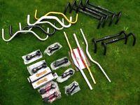 JOB LOT - Quality Handle bars & Stems - Bike builder / Home mechanic - Cinelli / one one / planet x