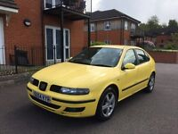 SEAT LEON 1.9 TDI SPORT 6 SPEED MANUAL YELLOW HPI CLEAR