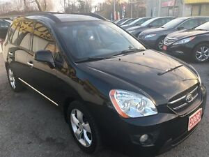 2008 Kia Rondo EX Luxury/7PASS/LEATHER/ROOF/LOADED/ALLOYS