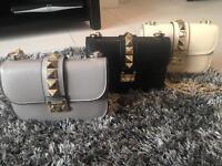 Valentino Garavani, rockstud style, chain bags