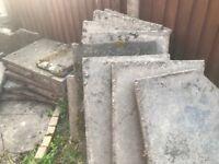 30 paving slabs