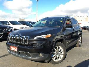 2014 Jeep Cherokee LIMITED**LEATHER**NAVIGATION**BACK UP CAMERA*