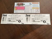 CARFEST SOUTH 2 ADULT TICKETS FOR SATURDAY 25TH AUGUST