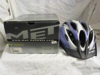 MET LADIES CYCLE HELMET SIZE 52 - 57 CMS