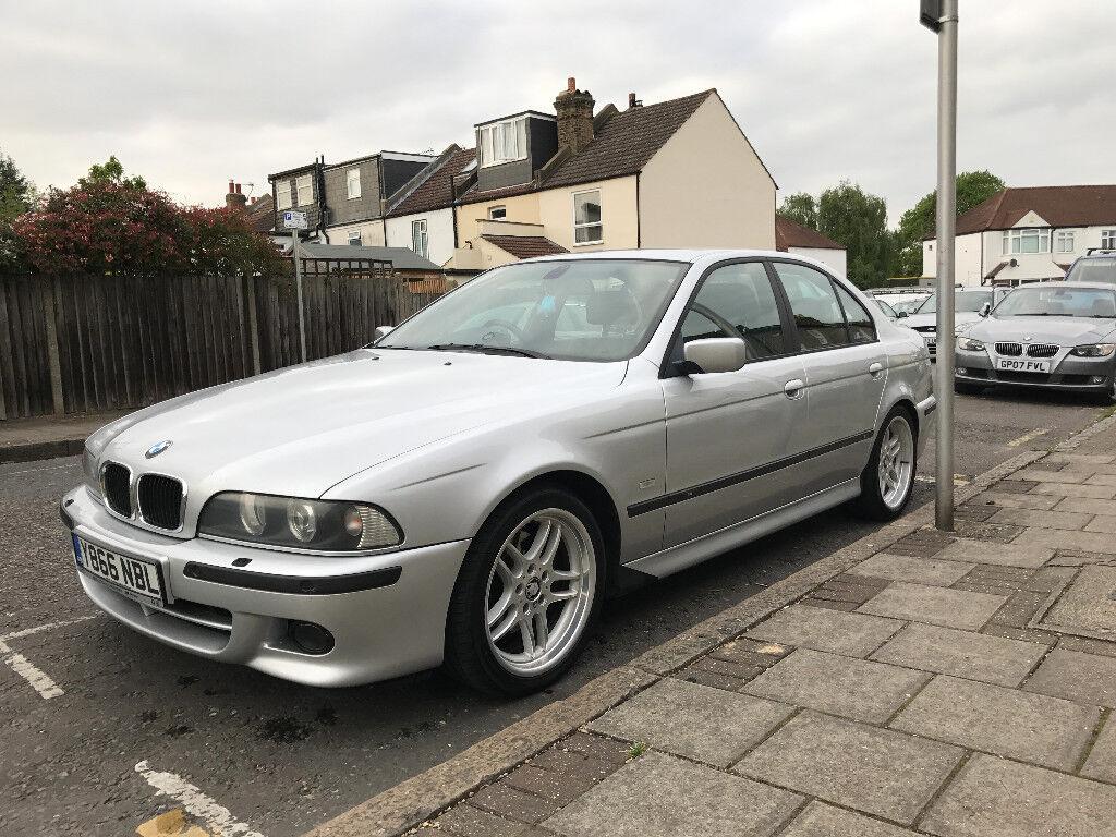 01 BMW 530i M Sport Auto in Titanium Silver ( Not 520 525 530d ...