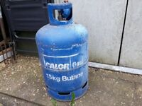15 kg butane calor gas bottle