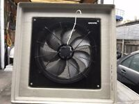 CATERING COMMERCIAL KITCHEN EXTRACTOR CANOPY FAN AND SPEED CONTROL CAFE KEBAB SANDWICH RESTAURANT