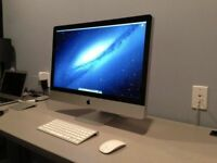 27' Apple iMac i3 3.2Ghz 16gb Ram 1TB Logic Pro Cubase Omnisphere Ableton iZoTope Native Instruments