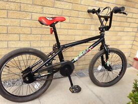 BMX bike. 3 yrs old. Suitable for ages 5 to 10. Used about 10 times.