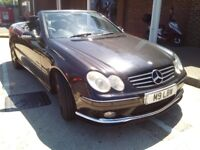MERCEDES CLK CONVERTIBLE AMG STYLE