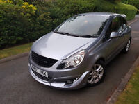 2007 VAUXHALL CORSA SXI 1.2 PETROL,IRMSCHER BODY KIT,VERY LOW MILEAGE,ONE OWNER FROM NEW,MINT COND.