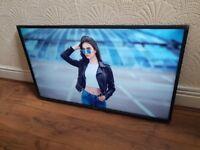 BOXED HISENSE 43-inch UHD 4K HDR Smart LED TV,builtin Wifi,Freeview & FREESAT.Pls Read Description