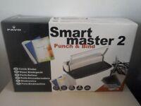 SMARTMASTER2 PUNCH AND BINDER MACHINE