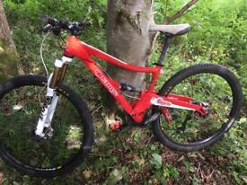 "Orange gyro pro 29"" wheels M frame mountain bike"
