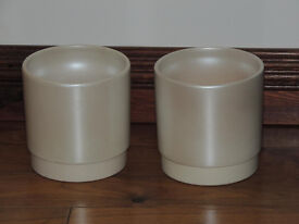 2 Quality pearl cream pots (Delivery)