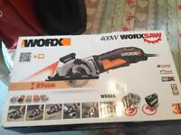 Worxaw 400, as new, collect le3