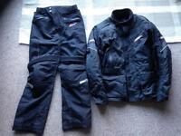 RST ladies waterproof motorbike jacket & trousers