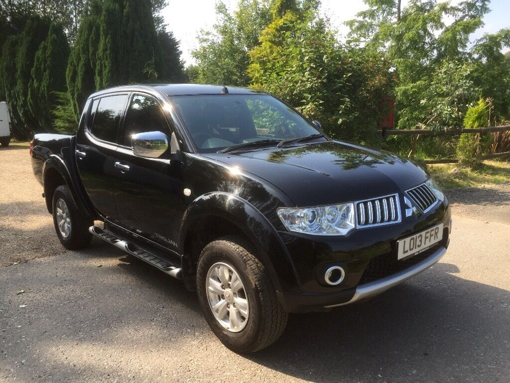 2013 mitsubishi l200 trojan 4x4 pickup truck in maidstone kent gumtree. Black Bedroom Furniture Sets. Home Design Ideas