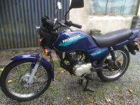 Honda cg 125 full 12 months mot