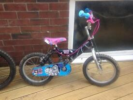 Girls Bike 14""