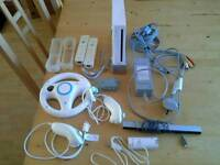 Wii Consol/Controllers