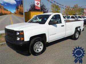 2015 Chevrolet Silverado 1500 WT - 2WD - 8 Ft Box - 4.3L V6