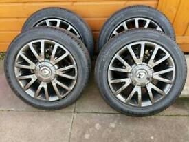 Clio alloy wheels facings refurbed