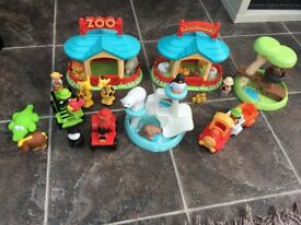 ELC Happyland Zoo and Safari Sets