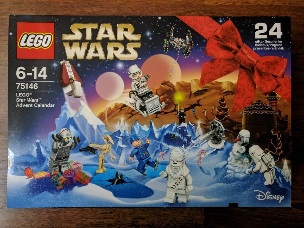 New Lego Star Wars advent calendar (75146)