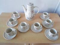 Royal Albert summer fantasy coffee set