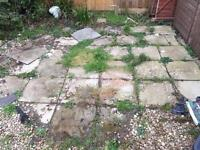 Free concrete patio slabs