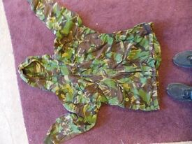camo,hunting jacket size large