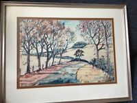 Olwen Hughes Painting Leicestershire Artist