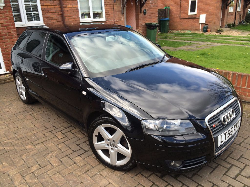 2005 audi a3 sport manual 5 door s line spec black 2 0 tdi fully loaded drives superb 3595 in. Black Bedroom Furniture Sets. Home Design Ideas