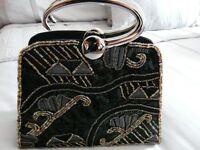 Beautiful bead effect handbag in excellent condition