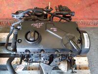2005 AUDI A4 B7 1.9TDI ENGINE DIESEL BKE CODE 94076 MILES S LINE #7390