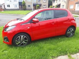 2018 PEUGEOT 108 ALLURE 1.2 PETROL ( only 1743 mileage!!!!!!!!!!!!!)