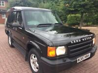 2000 W Reg LandRover Discovery TD5 2.5 Diesel 7 Seater