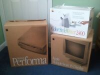 "Collector's condition 1994 Apple Performa 630CD with 15"" Multiple Scan (colour) Display"