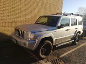 4 X 4 Jeep Commander 3.0 V6 CRD LIMITED AUTO 215 BHP