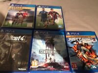 Ps4 games bundle all 5 for £15