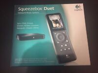 Logitech Squeezebox Duet Audiophile DAC Music Streamer - Brand New in Sealed Box