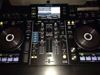 Pioneer XDJ-Rx with M-Audio BX5 d2 monitors (pair) and wall mount brackets (All as good as new)
