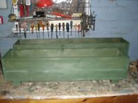 Two Garden Planters / Troughs